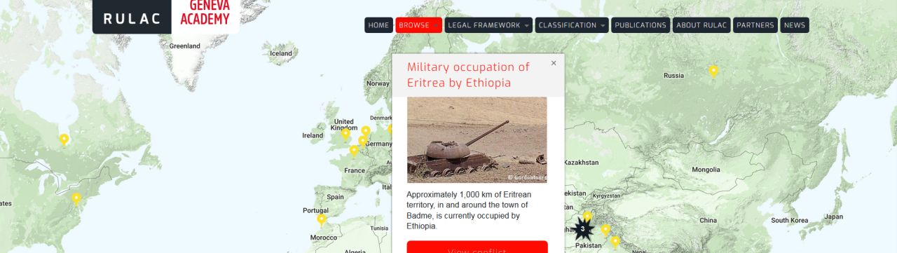 The Ethiopia Erithrea Armed Conflict on RULAC