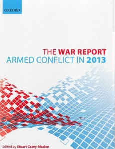 Cover of the War Report 2013