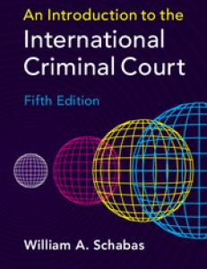 cover of the book Introduction to the International Criminal Court'
