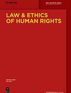 Cover of The Law & Ethics of Human Rights. Volume 10, Issue 2
