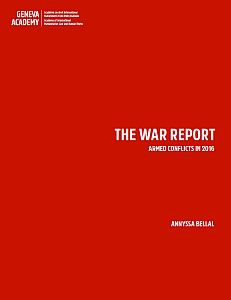 Cover of the War Report 2016
